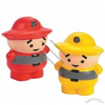 Cartoon Fireman Stress Balls