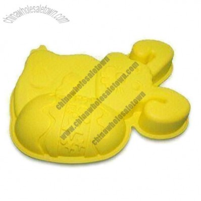 Cartoon Hare Shaped Silicone Bakeware