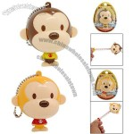 Cartoon Monkey Style Mini Portable Retractable Tape Measure