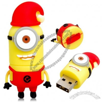 Cartoon Robot Design 8GB USB Flash Drive