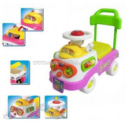 Cartoon Slide Baby Car