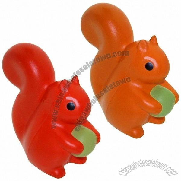 Cartoon Squirrel Stress Ball, Animal Stress Balls, China