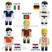 Cartoon USB Flash Drive with Football player shape