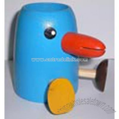 Cartoon Wooden Pencil Vase