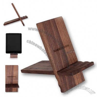 CaseCrown REAL Wooden Stand (Walnut) for the Apple iPad 2