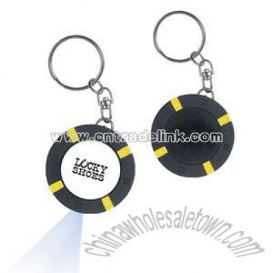 Casino Chip Key Tag