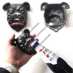 Cast Iron Dog Head Bottle Opener