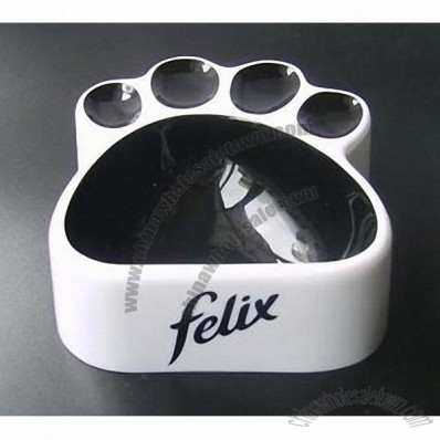 Cat Claw Shaped Pet Dog Bowl