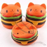 Cat Hamburger Stress Ball