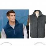 Cathedral Peak Printed Fleece Vest for Men's