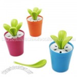 Celery Cabbage Potted Plant Spoons Set