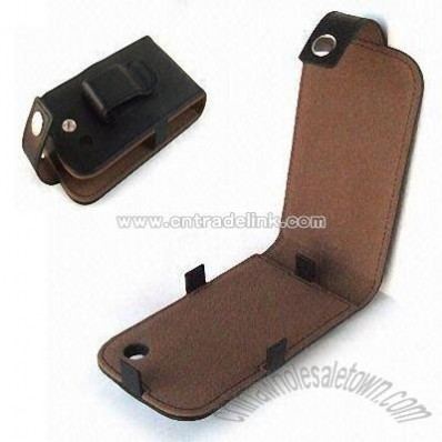 Cell Phone Leather Pouch Case for Sprint Palm Pre