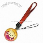 Cell Phone Strap with Screen Wiper and Cleaner