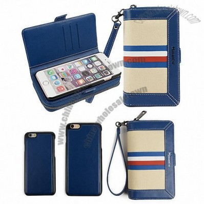 Cell phone case wallet for iPhone 6