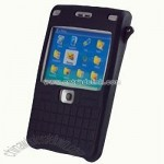 Cellet Nokia E61 Black Silicone Case
