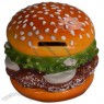 Ceramic Hamburger Piggy Bank