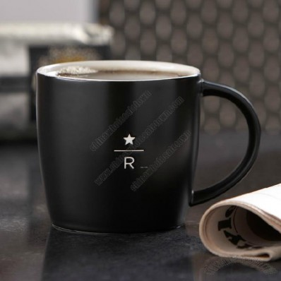 Ceramic Mug with Carving Decorating Logo