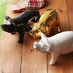 Ceramic Pig Shape Mosquito Repellent Incense Tray
