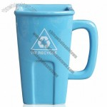 Ceramic Recycling Bin Mug, Trash Can Cup