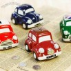 Ceramic Vehicle Money Banks - Car Shaped Coin Bank