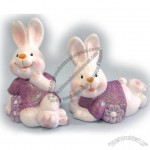 Ceramic rabbit decoration for Easter part