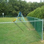 Chain Link Fence, Easy to Maintain