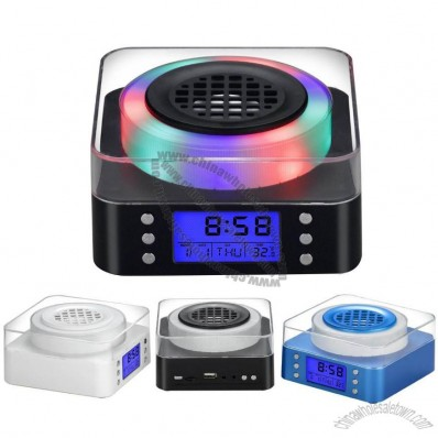 Change Colour Calendar Clock Radio
