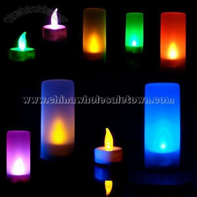 Changing Color LED Voice Control LED Candle Lights