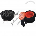Charcoal BBQ grill and Cooler Bag Set