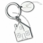 Charmed House Split-ring Key Holder w/Hang Tag