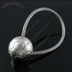 Cheap Football Cable Keychains