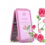 Cheap Pink Flip Mobile Phone