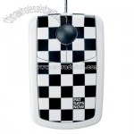Checkered Flag Optical Mouse