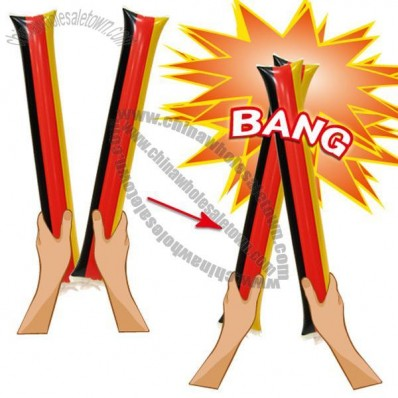 Cheering Sticks, Thunder Sticks, Inflatable Bang Bang Sticks