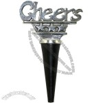 Cheers Handcrafted Pewter Wine Stopper