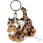 Cheetah Plush Keychain By Wild Republic
