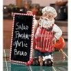 Chef Santa with Chalkboard