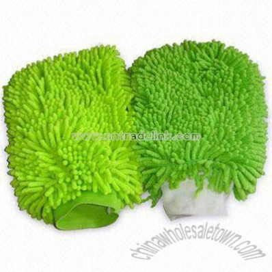 Chenille Car Cleaning Gloves