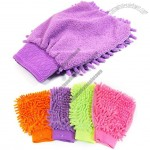 Chenille Car Washing Gloves - Microfiber Car Mitt