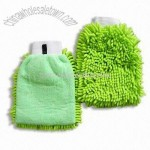 Chenille and Microfiber Cleaning Gloves