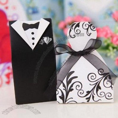 Cherish Bride and Groom Favor box