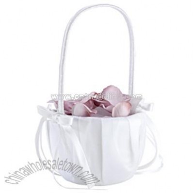 Cherished Flower Girl Basket
