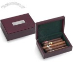Cherry Finish Executive Cigar Box