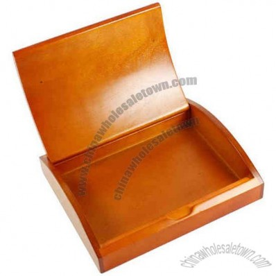 Cherry Wood - Curved wooden gift box