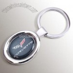 Chevy Corvette C6 Domed Key Chain