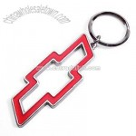 Chevy Red Bowtie Logo Key Chain