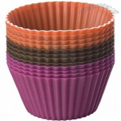 Chicago Metallic Baking Essentials Silicone Baking Cups 12