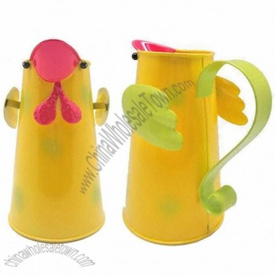 Chicken Shaped Metal Watering Cans