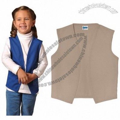 Child No Pocket Uniform Vest