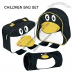 Children Bag Set in Penguin Design